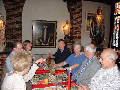 Barbara, Jan, Marjo, Peter, Joy, Hans and Ton