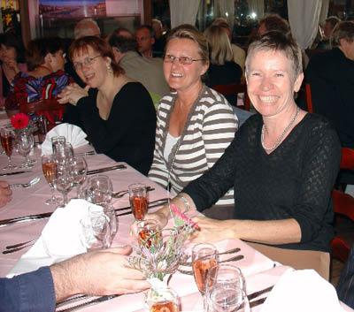 Anita, Rosemarie and Nadine