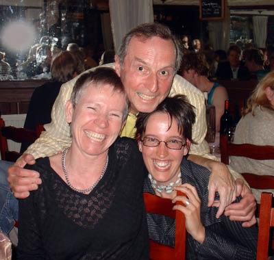 Nadine, Jan and Karen