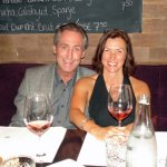 Cecilia with Steve Schwarz