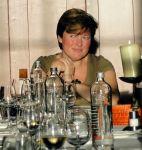 Linda at the gala dinner