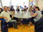 Round table scene