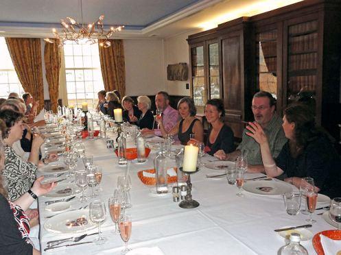 Gala dinner at Stadskasteel Oudaen